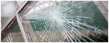 City Of London Smashed Glass